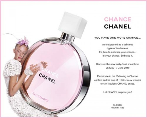 chanel promo code august 2018 wholesale