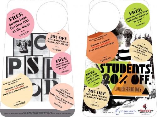 Student Card Topshop Code Viagogo Discount Code