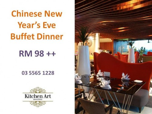 Chinese New Year S Eve Buffet Dinner Kitchen Art Empire Hotel