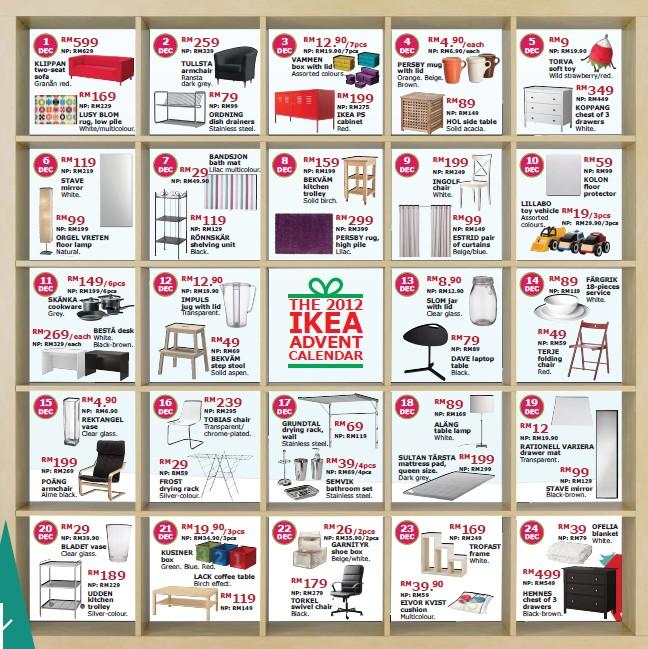 ikea christmas promotion 22 december. Black Bedroom Furniture Sets. Home Design Ideas
