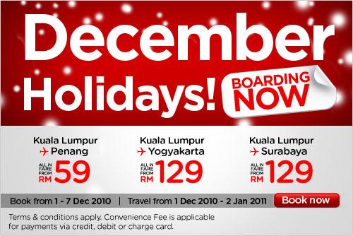 December Holiday Airasia